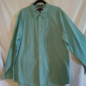 Tommy Hilfiger Graduate end on end Button Down XL